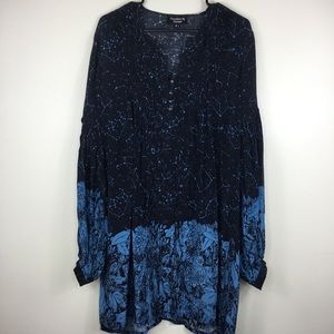 Feathers By Tolani Anthropologie Tunic Top Medium